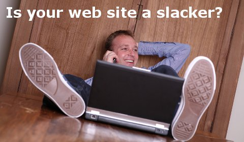 Is your website a slacker?