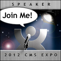 Join Avery at CMS Expo 2012